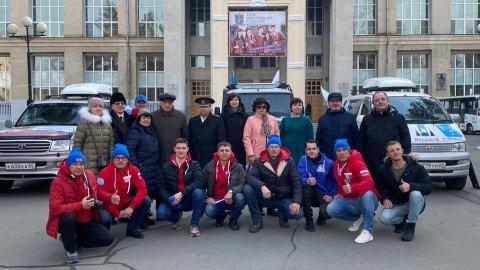 Участники патриотического автопробега прибыли с визитом в  Тихоокеанский государственный университет