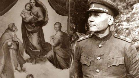 Маршал Конев. Любовь на линии огня