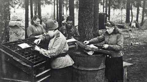 Доброволец-машинистка дошла до Берлина