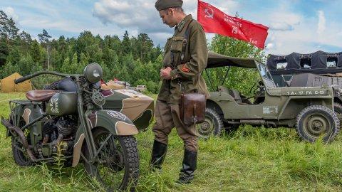 Парад военной техники XX века пройдёт в Подмосковье