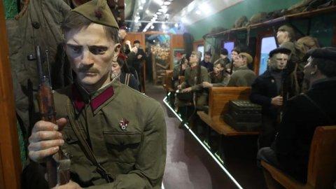 Поезд Победы посетил Мурманск