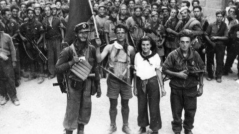 Итальянские партизаны споют о мире