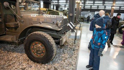 Музей обновил выставку техники