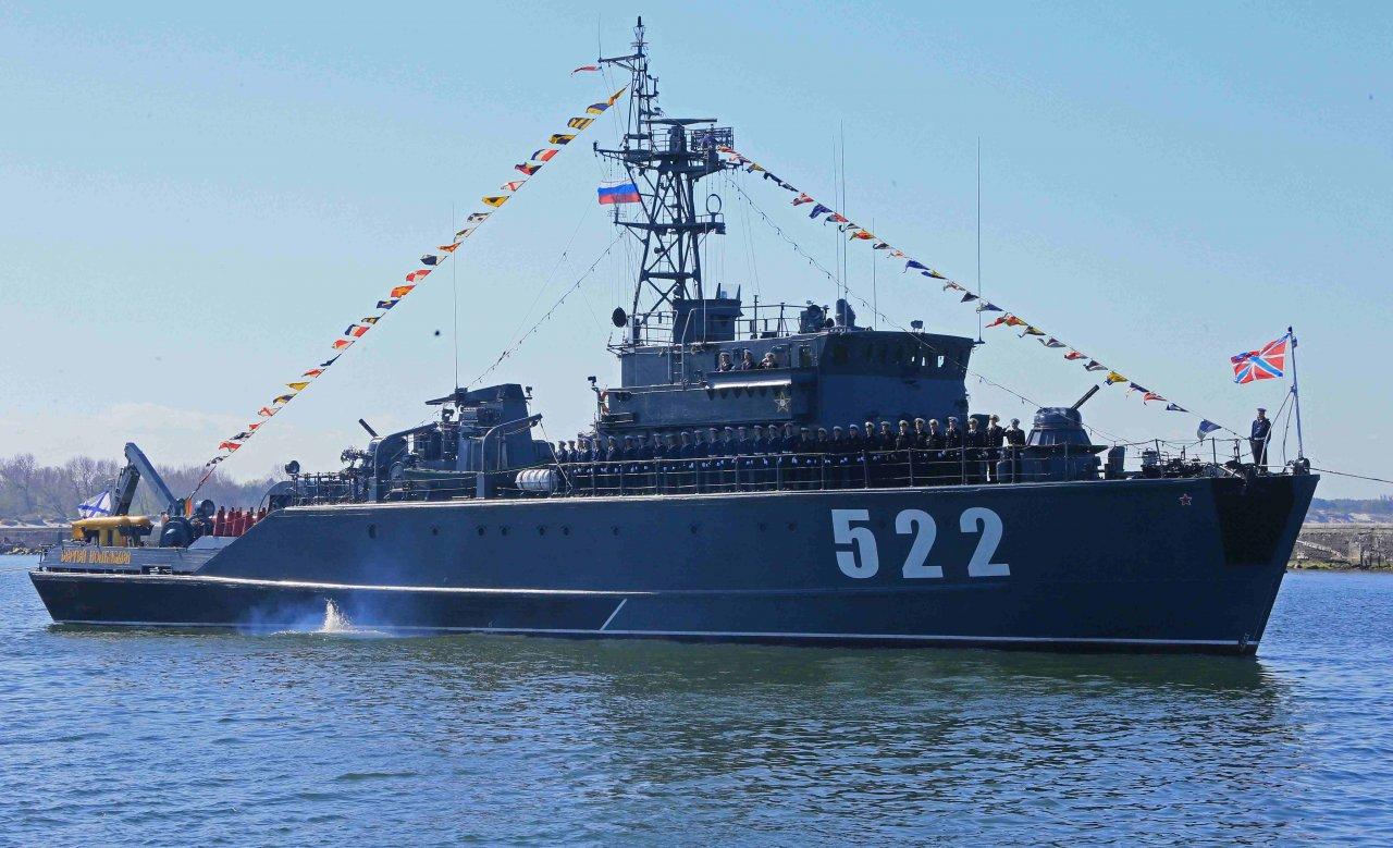 Главной военно-морской базе Балтийского флота исполнилось 65 лет