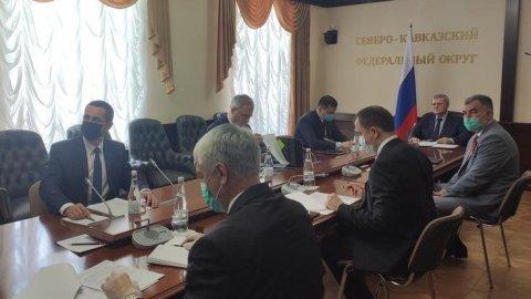 Юрий Чайка провел заседание Совета при полномочном представителе Президента РФ в СКФО