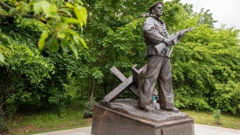 Погибших под Москвой моряков не забыли